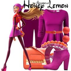 """Honey Lemon"" by annabelle-95 on Polyvore"