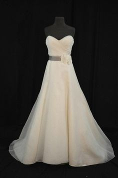 """on Say Yes to the Dress: Atlanta tonight,  (Amsale """"Tyler"""" Gown)"""
