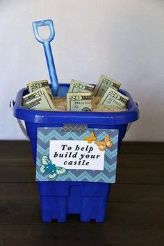 Leuke manier om geld te geven, bijvoorbeeld bij een housewarming.