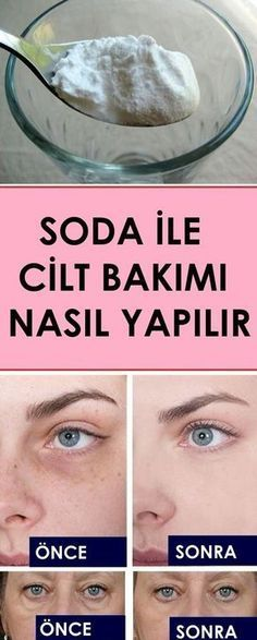Skin care with soda - sağlık - care # Sağlık - Hautpflege - Belleza Beauty Care, Beauty Skin, Beauty Hacks, Perfume Versace Bright Crystal, Homemade Skin Care, Homemade Beauty, Face Care, Body Care, Perfume Chloe