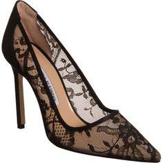 Manolo Blahnik Lace BB Zapatos España