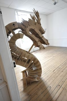 CARDBOARD DRAGON by CHAé46 , via Behance