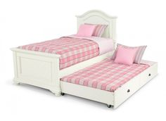 Details About Mission Low Profile Kids Girls Boys White Black Cherry Twin Trundle Bed Daybed