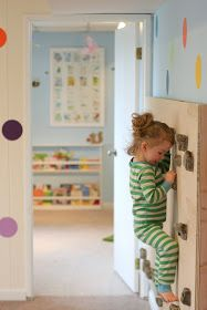 Rock wall with link to a how-to. | Fun at Home with Kids