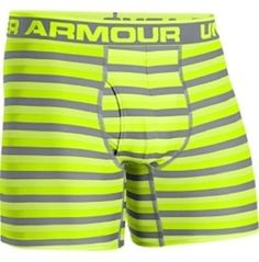 Mens Under Armour The Original Printed Boxerjock (Hanging), X-Ray/Steel/Open Yellow, L Boxer Pants, Boxer Briefs, Boxers, Under Armour Herren, Under Armour Men, Under Armour Outfits, Athletic Gear, Gym Wear, What To Wear