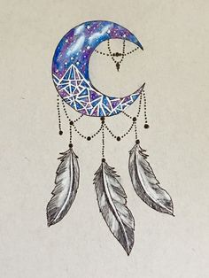 ACOTAR Night Court dream catcher tattoo design @mscrystalbeard