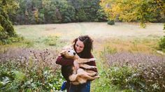 A photographer creates an inspiring photo series to remember her dog Chubby.