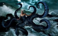 Where memories take hold and never let go. Queen Latifah as Ursula from The Little Mermaid. ~Portrait by Annie Leibovitz