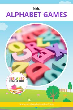 Learning the alphabet should be fun for our kids, so I decided to share this list of 20+ Kids Alphabet Games here with you. Enjoy! Alphabet Games For Kindergarten, Kindergarten Readiness, Preschool Alphabet, Teaching The Alphabet, Alphabet For Kids, Preschool Printables, Literacy Skills, Preschool Ideas, Teaching Kids