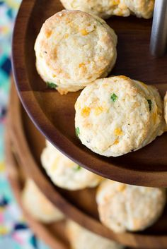 Garlic, Cheddar and Chive Scones. these were really very lovely! Not heavy or dense and had wonderful flavor!