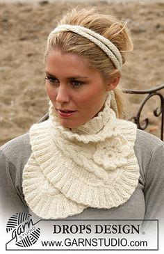 98-1 Neck Warmer In Alpaca - Free pattern download on ravelry.com