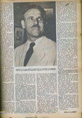 Página de BOHEMIA con la foto de Carlos Prío