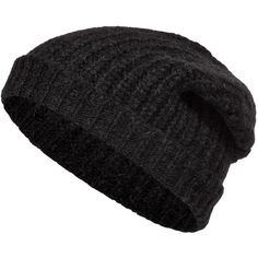 5d9a5f5306a CLOSED Alpaca-Wool Knit Beanie found on Polyvore Knit Caps