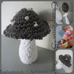 champignon crochet N1