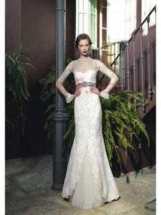 $205.55Long Sleeve Tank Top Court Train Trumpet #Mermaid #Wedding #Dress