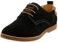 iLoveSIA Men's Leather Suede Casual Oxfords Shoe >>> More info could be found at the image url.