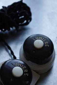 Les Interrupteurs qui faisaient des étincelles parfois quand on appuyait dessus !