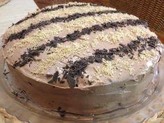 Greek Sweets, Greek Desserts, Party Desserts, Greek Recipes, No Bake Desserts, How To Make Cake, Food To Make, Cake Recipes, Dessert Recipes