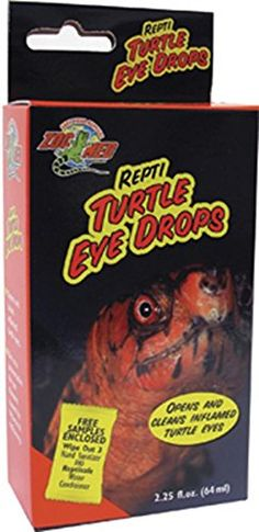 Opens and cleans inflamed turtle eyes. Use as a preventative for eye diseases caused by vitamin A deficiency. Especially helpful with box turtle eye problems....