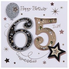 65th Birthday Cards Diy Wishes Party Ideas