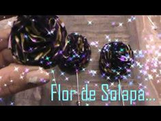 DIY How to Make a Lape lFlower - YouTube