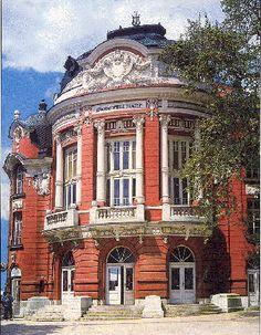 Varna, Bulgaria opera house; I've performed in an opera here! Beautiful :)