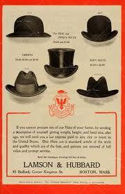 Men's hats vintage