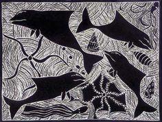 Marika DHUWARRWARR_Mutjalanydjal #aboriginal #aborigene #contemporain #blackandwhite