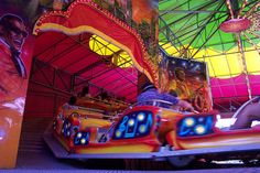 Awesome carnival ride