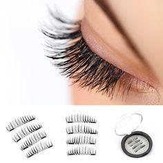 The 6 Best Magnetic Eyelashes You Need To Try ASAP Eyelash Tinting, Eyelash Curler, Eyelash Extensions, Eyelash Growth, Eyelash Glue, Fake Eyelashes, False Lashes, Ardell Lashes, Artificial Eyelashes