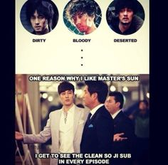 hahaha well...lol But I agree. He was clean, debonair, prim, proper and perfect...just how I love my men ^^ Oh So Ji Sub oppa, I fell in love with him in this show