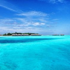Feeling blue? at Conrad Maldives Rangali Island