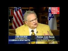 John Hagee says President Obama's action regarding Libya is the work of a dictator. John Hagee, Christian Videos, My Jesus, Jesus Loves You, Right Wing, Obama, Pray, Presidents, Religion