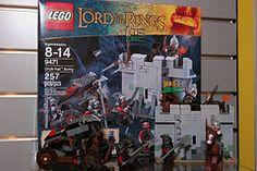 Toy Fair 2012 - The Lord of the Rings - 9471 Uruk-hai Army - 01 Lord Of The Rings, Lego Sets, Army, Baseball Cards, Toys, June, Gi Joe, Activity Toys, Lego Games