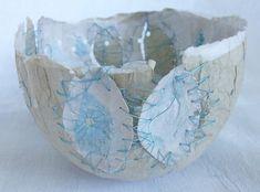 paper bowl, mended