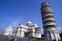Presenting: The Tower of Pisa In Tuscany