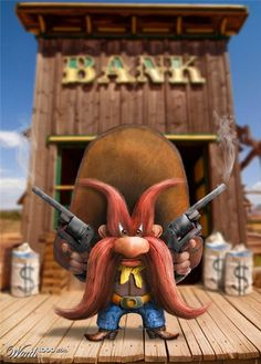 Yosemite Sam by Debra Mason (Shorra) made for Worth1000