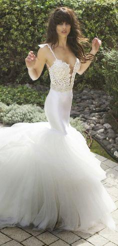 Israel's most daring designer! The bride who wears Zahavit Tshuba is no ordinary girl when she sashays down the aisle ...!