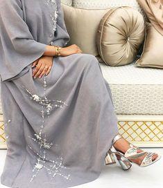 Modest Fashion Hijab, Modesty Fashion, Abaya Fashion, Muslim Fashion, Modest Outfits, Fashion Dresses, Baby Blue Wedding Dresses, Muslim Wedding Dresses, Dubai Fashionista