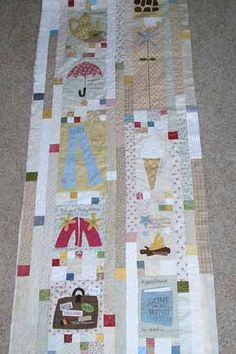 Few of My Favorite Things Quilt - ice cream