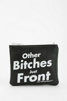 Married To The Mob X UO Front Zip-Pouch