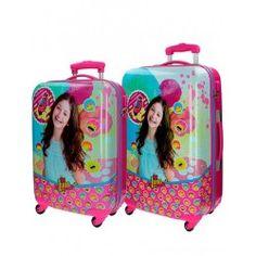 Soy Luna Suitcase of Travel Rigid Luggage Child 4 Wheels Asa Telescopic Minnie Mouse Luggage, Mickey Mouse Head, Mickey Ears, Disney Mickey Mouse, Mochila Trolley, Disney Luggage Tags, Luggage Backpack, Travel Luggage, Disney Star Wars