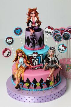 Torturi - Viorica's cakes: Monster High pentru Francesca
