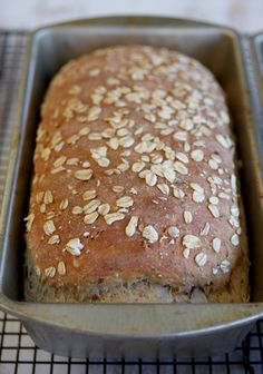 Multigrain Bread from a 7 grain cereal mix......... Baked Bread loaf