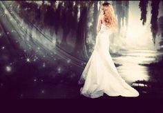 Fairytale #wedding dress