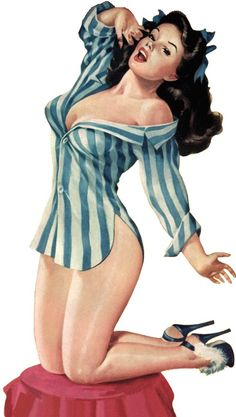 I have become obsessed with doing a pin up shoot. Tons of wardrobe changes and lots of fun!