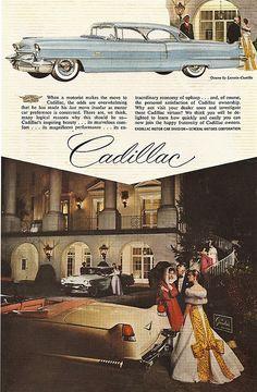 1956 Cadillac AD - North Entrance at The Greenbrier