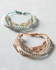 Chan Luu Sparkle Slide Bracelet