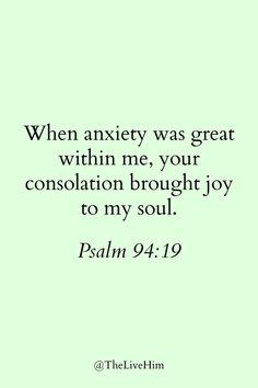 Bible Verses for Seasonal Anxiety | Live Him