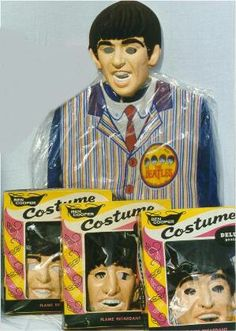 Beatles Ben Copper Costumes...scary looking.  I'd be very scared if someone wore that for Halloween...